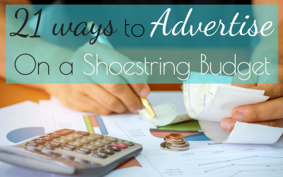 21 Ways to Advertise on a Shoestring Budget