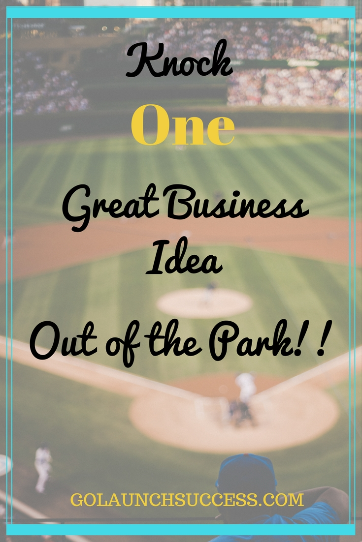 Knock one great business idea out of the park   If you want to know how the most successful business are highly profitable by picking one main service or product, then this post is for you! It includes the dos and don'ts that will help you narrow down what you offer your clients and customers. Check it out!!